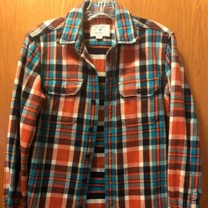 American Eagle outfitter extra small flannel plaid